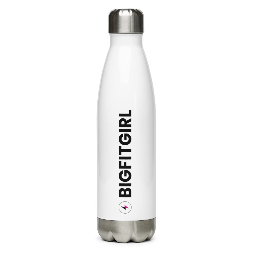 Big Fit Girl Stainless Steel Water Bottle
